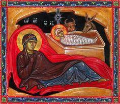 Saint Gregory of Sinai Monastery is an Eastern Orthodox men's community. The Monastery Icon Workshop specializes in egg tempera panel icons, fresco painting, and mosaics. Monastery Icons, Saint Gregory, Nativity, Catholic, Mosaic, Saints, Religion, Painting, Celebrations