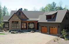 Front Exterior The Solstice Springs House Plan #5011