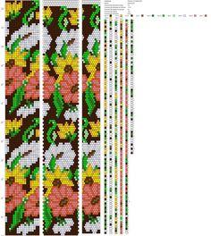 Bead Crochet Patterns, Bead Crochet Rope, Beading Patterns, Knit Crochet, Native American Beading, Loom Beading, Bead Weaving, Anastasia, Diy Jewelry