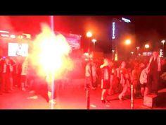 Po meczu Euro2012 w Warszawie w Strefie Kibica. #Polska - Czechy w Fanzone #Warszawa