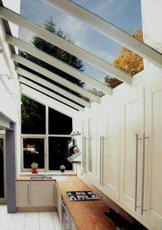 If kitchen in extension