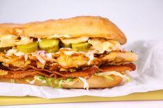 Chicken and Slaw Sandwich