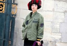 파리 패션위크에서 김나영 : 네이트판