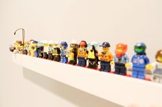 Lego Minifig Shelf by MillerFurniture on Etsy