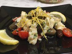 Insalata di Baccalà con Olive