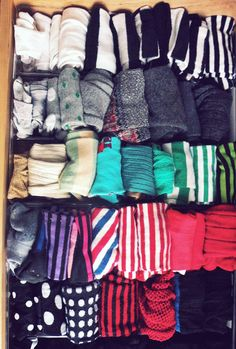 this is the exact opposite of my sock drawer.