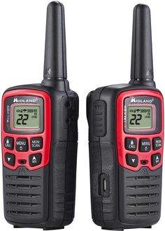 Midland - X-Talker 26-Mile, 22-Channel FRS/Gmrs 2-Way Radios (Pair), T31VP