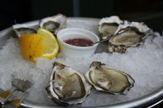 Oysters at Wright Brothers- Borough Market.