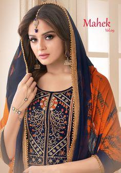 bc806cfe59 Utsav Suits Mahek Vol-9. Textile Mart · Dress Material. Textilevilla pvt ltd