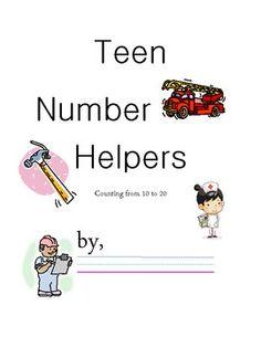 Teen Number Community Helpers
