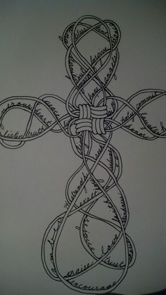 Cross Zentangle - original by ADuckworth Designs