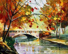 AUTUMN CALM - PALETTE KNIFE Oil Painting On Canvas By Leonid Afremov http://afremov.com/AUTUMN-CALM-PALETTE-KNIFE-Oil-Painting-On-Canvas-By-Leonid-Afremov-Size-16-x20.html?bid=1&partner=20921&utm_medium=/vpin&utm_campaign=v-ADD-YOUR&utm_source=s-vpin