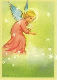 Nordic Thoughts: by Martta Wendelin Christmas Images, Christmas Angels, Vintage Christmas, Boyfriend Canvas, Angels Among Us, Renaissance Art, Diy Canvas, Animal Quotes, Funny Art