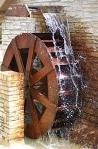 pictures of water wheel mills Frank Stella, Old Grist Mill, Hydroelectric Power, Water Pictures, Backyard Water Feature, Water Powers, Water Mill, Georges Braque, Old Barns