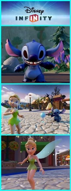 Disney Infinity 2.0 introduces two new, high-flying, energetic characters to the gaming world!