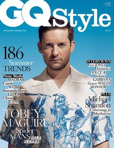 Tobey Maguire - Gq Style Magazine Cover [Germany] (March 2016)