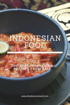 Indonesian Recipes from a Fabulous Bali Cooking Class