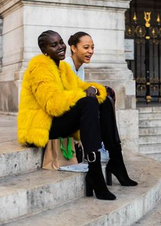 I adore this amazing fashion photo art! African Street Style, Street Style Edgy, Street Style Looks, Street Style Women, Black Women Fashion, Womens Fashion, Style Fashion, Fashion Edgy, Ootd Fashion