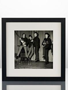 Leaping Beatles - Ralph Lauren Home Artwork - RalphLauren.com Ralph Lauren Style, Modern Wall Art, Picture Wall, The Beatles, Artwork, Pictures, Image, Gallery Walls, Jazz