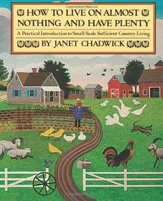How TO LIVE ON ALMOST NOTHING AND HAVE PLENTY: A Practical Introduction to Small-Scale Sufficient Country Living by Janet