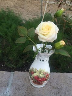 Cold clay rose Cold porcelain rose Handmade flower Handmade rose Home decor Flowe decor Floral arrangement Handmade floral arrangement