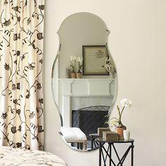 Ballard Designs Audrey Mirror (small medium or large)  sc 1 st  Pinterest & Idea for master bedroom -- already have the green garden stool ... islam-shia.org