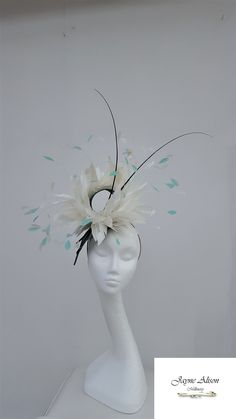 bf4294a66 227 Best Feathers on Hats and Feather Hats images in 2019   Feather ...