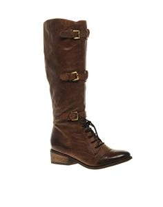 Love this..! Bertie FRANNY TRIPLE STRAP MILITARY BOOT
