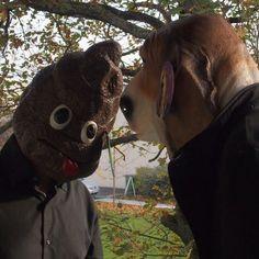 Un masque Emoji Mr Popo, en latex, parfait si vos amis  #poo trouvent que vous avez une tête ou un caractère de merde !