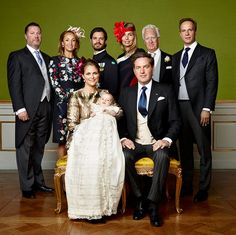Prince Nicolas of Sweden's christening: First official photos - HELLO! US
