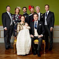 Prinz Nicolas von Schwedens Taufe: Erste offizielle Fotos - HALLO!