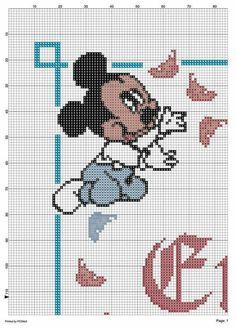 Disney, Smurfs, Anna, Fictional Characters, Cross Stitch, Dots, Fantasy Characters, Disney Art