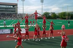 Cheerleaders by erik jaeger, via Flickr Cornell