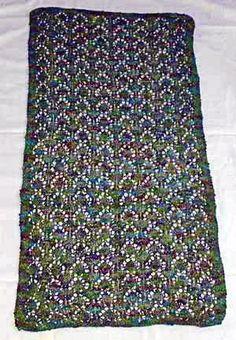 Dresser Scarf knitting pattern