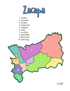 ZACAPA - GEOGRAFÍA DE ZACAPA (GUATEMALA) - CHILE POST™