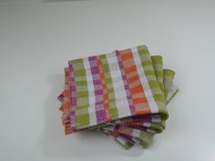 Small Handwoven  Hand Towels by MEMEtextiles on Etsy