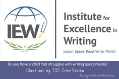 Institue For Excellence in Writing {A TOS CREW REVIEW} - Raising Soldiers 4 Christ