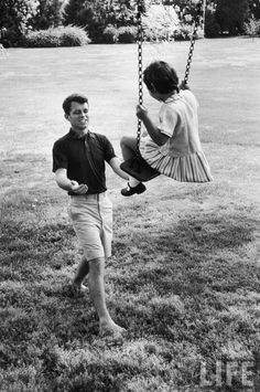Loving father, 1957