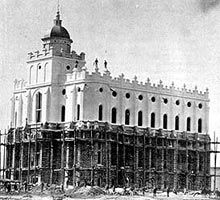 St. George Utah The beginning of building the Mormon Temple