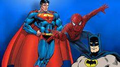 104 Meilleures Images Du Tableau Batman Spiderman Superman Batman