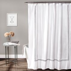 Half Moon Hotel Collection Shower Curtain - 16T000087