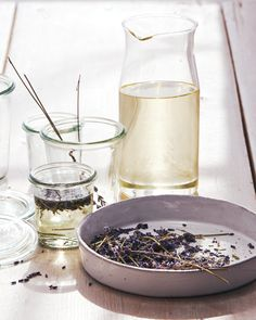 Spring is in the air! Emulate the signature scents of the season at home with DIY room sprays, floral crafts, and more—all using natural ingredients. Lavender Sleep Spray, Lavender Oil, Lavender Recipes, Lavender Ideas, Growing Lavender, Home Scents, House Smells, Herbalism, Make It Yourself