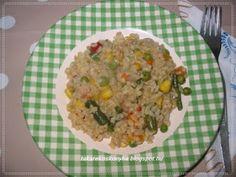 Takarékos konyha: Zöldséges bulgur