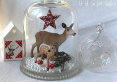 Bambi sous cloche (1).  Like the hanging star.