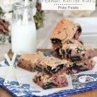 No-Bake Chewy Cookies and Cream Bars - Picky Palate