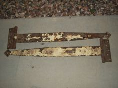 "VTG Richards Wilcox 30"" Pair Set Antique Iron Barn Stable Hinges Decor Country Antique Iron, Vintage Love, Stables, Weird, Barn, Country, Antiques, Friends, Decor"