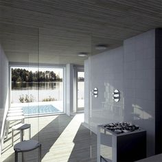 Sunhouse situated in Finland - The Virtual Stylist Finland, Cottage, Saunas, Dreams, Villas, Building, Table, Summer, House