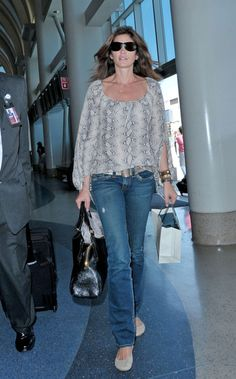 Cindy Crawford Photo - Cindy Crawford Departs from LAX