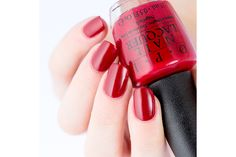 OPI Venice - Amore At The Grand Canal As I said earlier, OPI does red so good and this one is no exception. The crelly formula makes it looks so squishy and glossy! This is two coats and top coat. Nails 2015, Grand Canal, Mani Pedi, Opi, Venice, Swatch, Nail Polish, Top Coat, Pretty