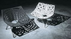 Louise Campbell, love her chairs and the shadows they make